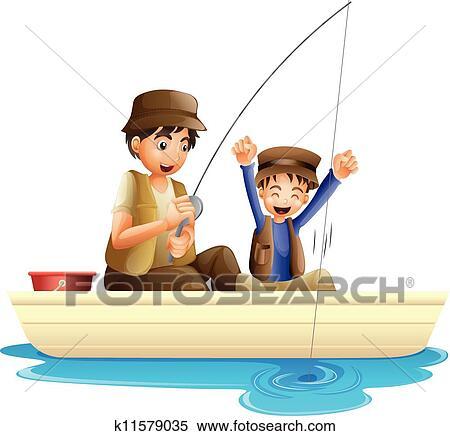 الأب و الابن Clipart K11579035 Fotosearch