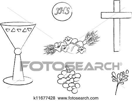 シンボル の キリスト教 イラスト K11677428 Fotosearch