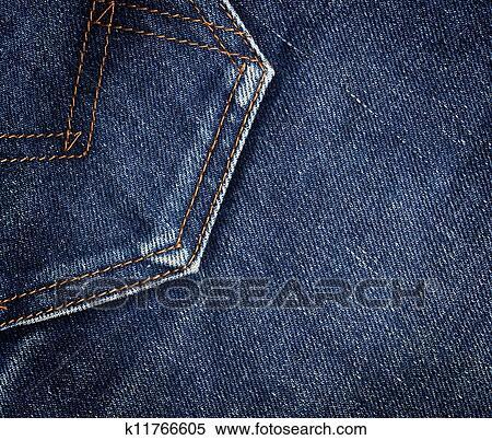 ジーンズ ポケット イラスト K11766605 Fotosearch
