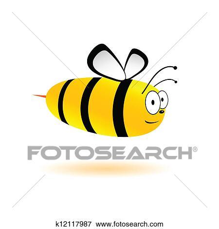 甘い そして かわいい 蜂 ベクトル イラスト クリップアート K Fotosearch