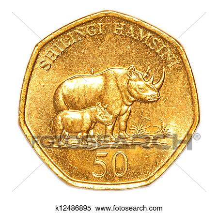 Stock Image Of 50 Tanzanian Shilling Coin K12486895 Search Stock
