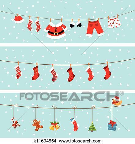 Christmas Banners.Christmas Banner Clipart
