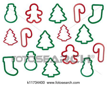 Christmas Shapes.Christmas Shapes Clipart