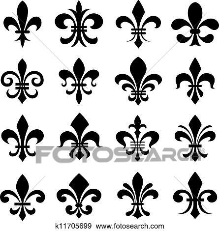 Symbole De La Fleur De Lys