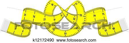 Dessin Animé Mètre Ruban Clipart K12172490 Fotosearch