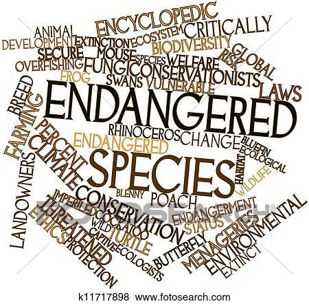 Endangered species Stock Illustration | k11717898 | Fotosearch