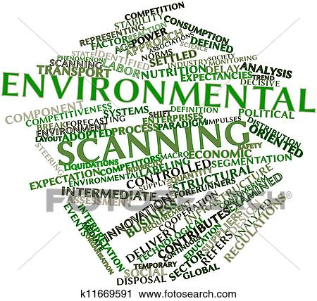 Clipart Of Environmental Scanning K11669591 Search Clip