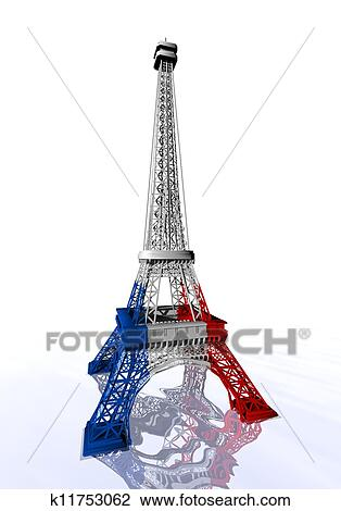 Background Eiffel Tower Drawing Color