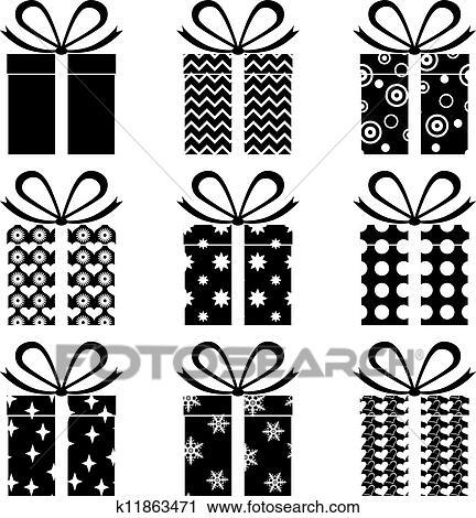 clipart geschenk boxt k11863471 suche clip art illustration wandbilder zeichnungen und. Black Bedroom Furniture Sets. Home Design Ideas