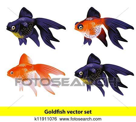 Clipart aquarium poisson rouge set t lescope et for Poisson rouge artificiel