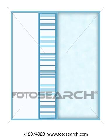 Stock Illustration Of Lite Blue Striped Design K12074928 Search
