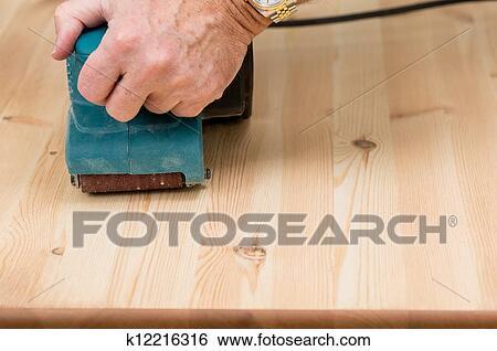 Sanding Floor Hand Belt Sander Roma
