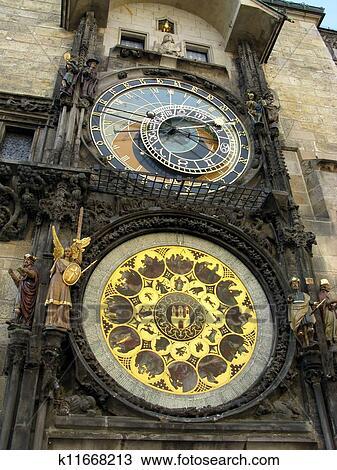 Stock Photo Of Orloy Clock Symbol Of Prague K11668213 Search