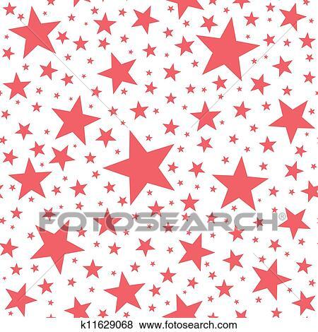 stock illustration seamless stern muster k11629068 suche clip art zeichnungen illustrationen k11629068jpg - Stern Muster