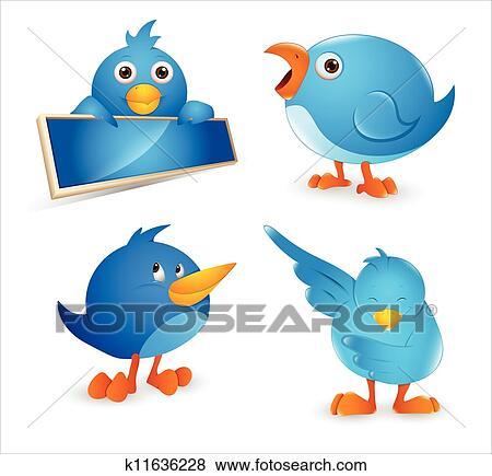 Veľké vtáky Twitter