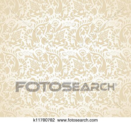 Wedding Card Background Clipart K11780782 Fotosearch