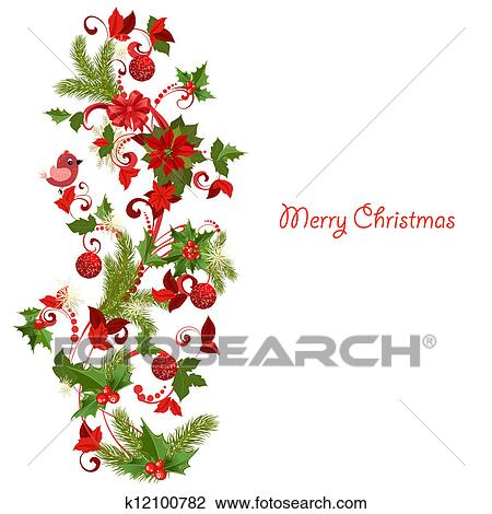 Clipart Weihnachtsdeko K12100782 Suche Clip Art Illustration
