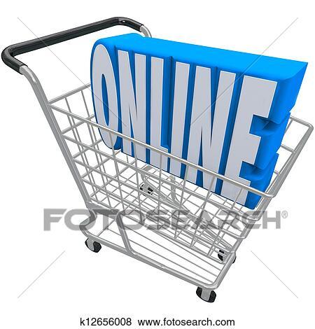 オンライン ショッピング カート バスケット 単語 インターネット