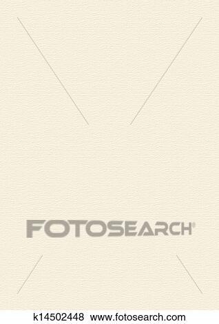 クリーム, ベージュ, ペーパー, 手ざわり, 背景, 大きい, フォーマット 写真館、イメージ館