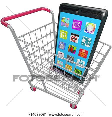 痛みなさい 電話 携帯電話 Apps 買い物カート 購入 新しい 電話