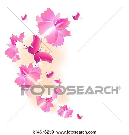 花 デザイン イラスト K14676259 Fotosearch