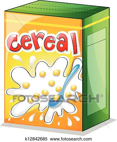 A Cereal Clipart K12842685 Fotosearch