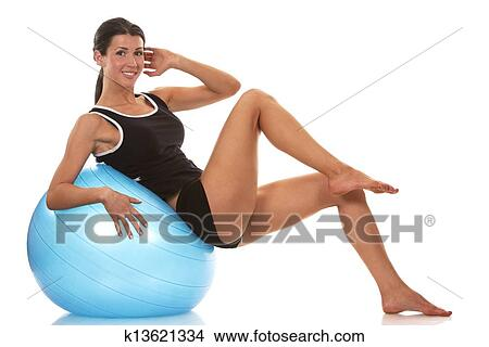 Abdominal Exercise Picture K13621334 Fotosearch