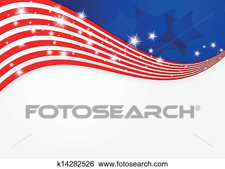 clip art of american flag background k14282526 search clipart rh fotosearch com american flag graphic design american flag graphic with christian cross