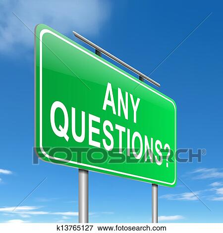 Stock Illustration Of Any Questions K13765127 Search Eps Clipart