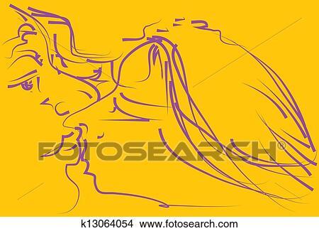 Beijo Amor Arquivos De Ilustracao K13064054 Fotosearch