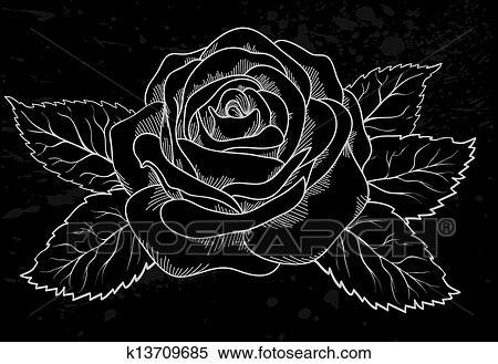 Fresh Sfondo Nero E Rosa Sfondo