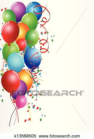 clipart of birthday celebration k13568505 search clip art rh fotosearch com birthday celebration clip art with alcohol birthday celebration clip art free