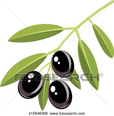 clip art of black olives k12646306 search clipart illustration rh fotosearch com olive clipart black and white olive clipart images