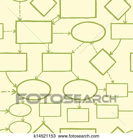 clipart blank mind map seamless pattern background fotosearch search clip art illustration