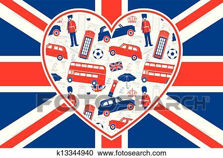 Clipart Of British Flag