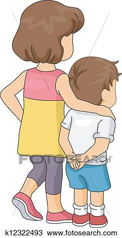 Brother and Sister clipart. Free download transparent .PNG   Creazilla