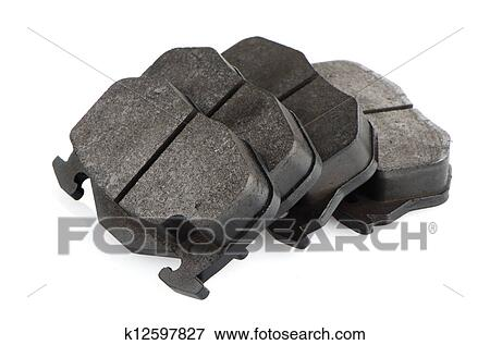 Car Brake Pads >> Car Brake Pads Stock Photo K12597827 Fotosearch