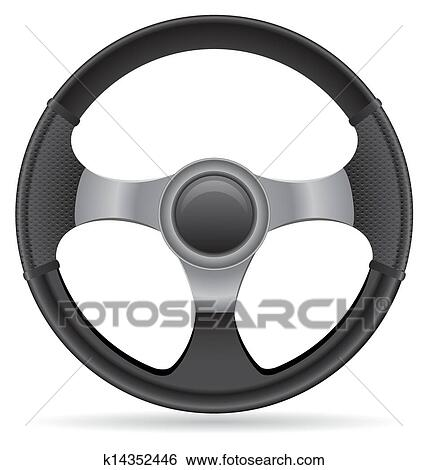 car steering wheel vector clip art k14352446 fotosearch https www fotosearch com csp992 k14352446