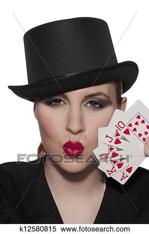 Banque CasinoFemmeÀLèvres Poule D'image De K12580815 Cul rshCxQtd