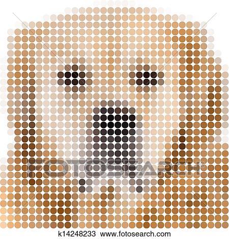 Cercle Pixels Image De A Chien Dessin