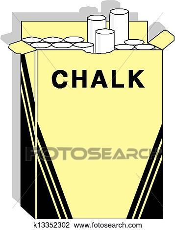 Clipart of chalk