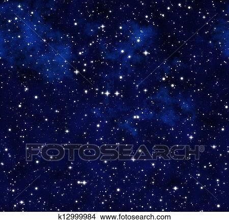Disegni Cielo Stellato Notte K12999984 Cerca Illustrazioni
