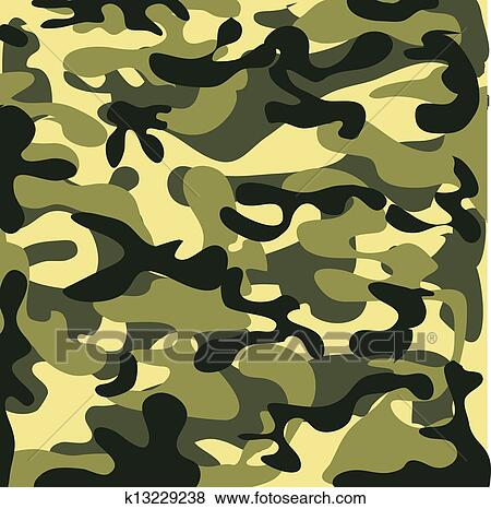 clip art of classic seamless military camouflage pattern k13229238 rh fotosearch com camouflage clipart camouflage clip art borders free
