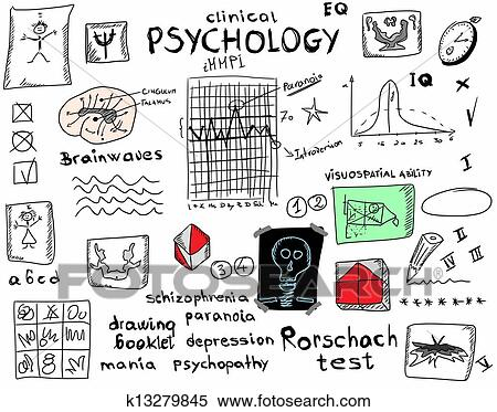 Stock Illustration Of Concept Clinical Psychology K13279845 Search