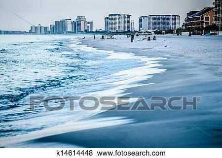 Picture Destin Florida Beach Scenes Fotosearch Search Stock Photos Images Print