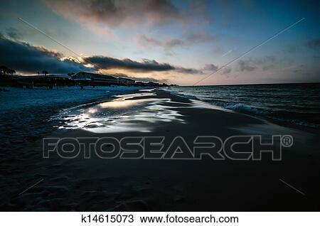Destin Florida Beach Scenes Stock Image
