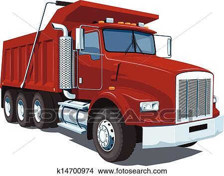 clipart of dump truck k14700974 search clip art illustration rh fotosearch com dump truck clip art black white dump truck clip art for shirt