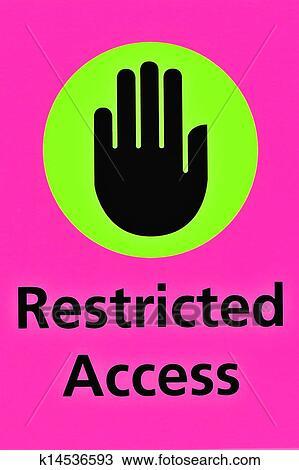 Dibujo el acceso restringido k14536593 buscar clip art dibujo el acceso restringido fotosearch buscar clip art ilustraciones de murales altavistaventures Gallery