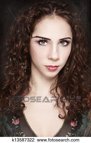 Stock Photo Of Elf Beauty K13587322 Search Stock Photography