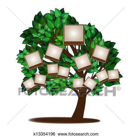clip art of family tree design template k13354196 search clipart